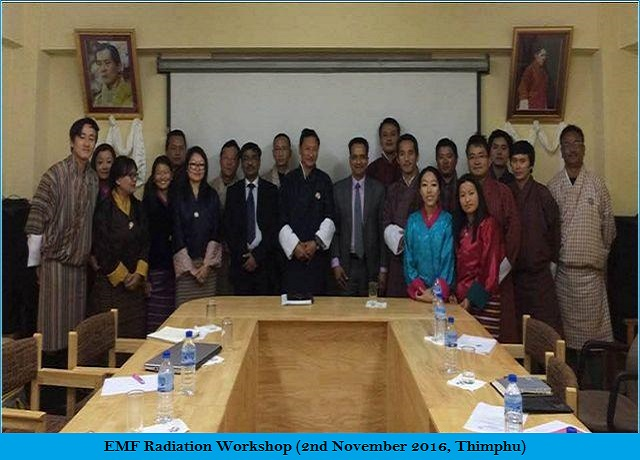 EMF Radiation Workshop (2nd November 2016, Thimphu)