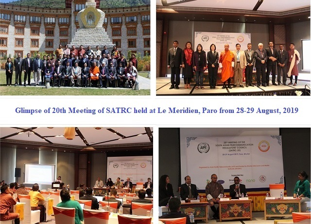 20th Meeting of the SATRC Bhutan